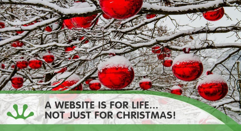 Christmas website blog