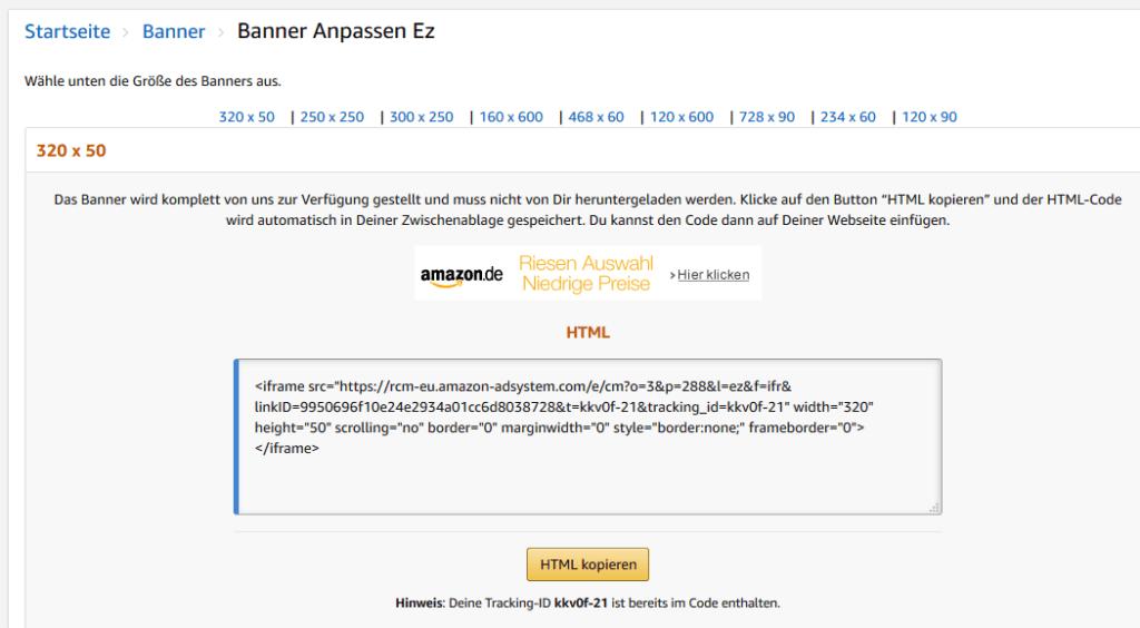 Das Amazon Affiliate Programm stellt eine einfache Möglichkeit dar, mit dem Affiliate Marketing zu beginnen.  Das  Amazon Partnernetzwerk  stellt dir Unmengen von  Werbemitteln zur Verfügung.
