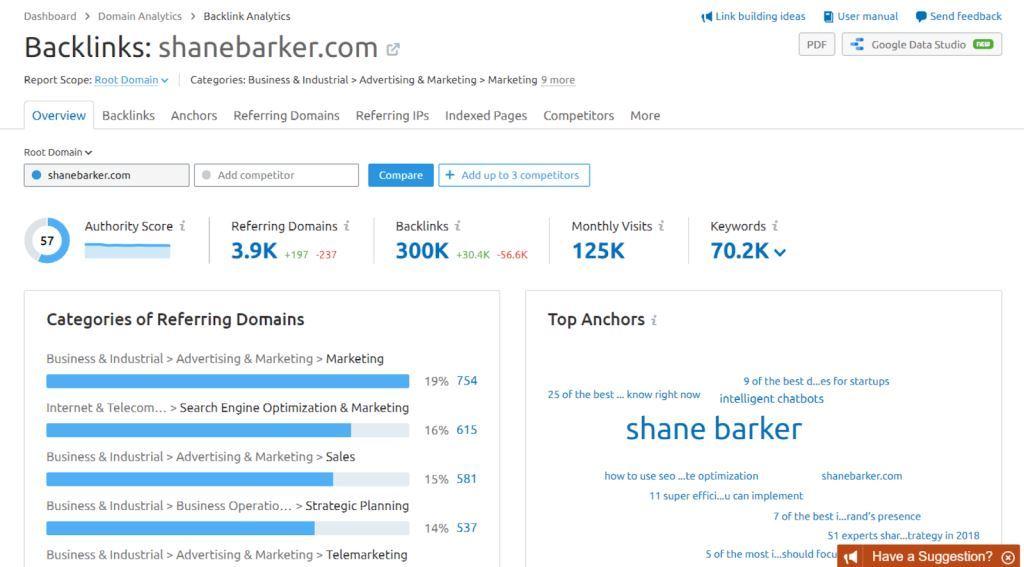 Backlink Analytics 2