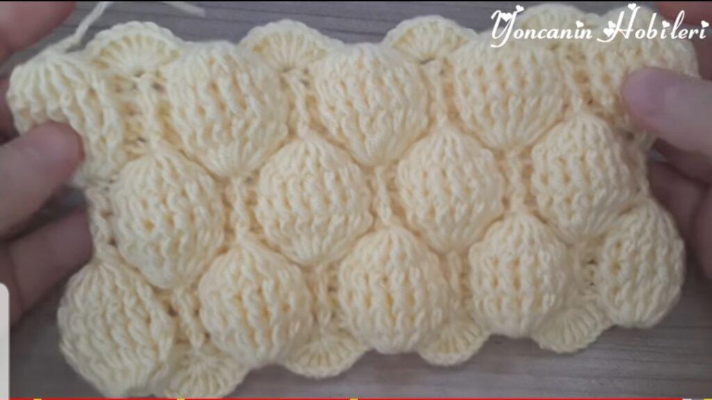 Aşırı Kolay Volanli Battaniye Örneği How to Knitting