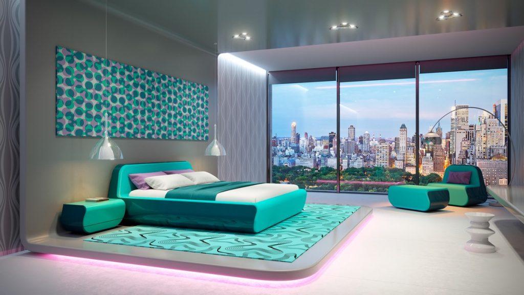 luksusowa sypialnia Denis Syrov