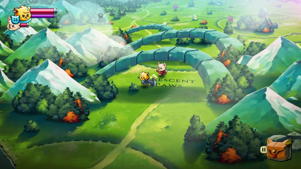 Apple Arcade multiplayer games cat quest ii