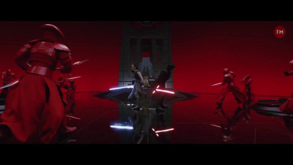 Rey, Kylo Ren, TLJ, TROS The Rise of Skywalker Last Jedi