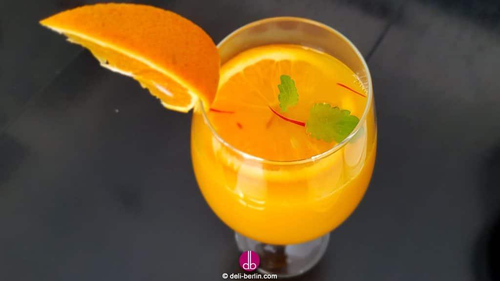 Sommer-Orangen-Limonade selbstgemacht