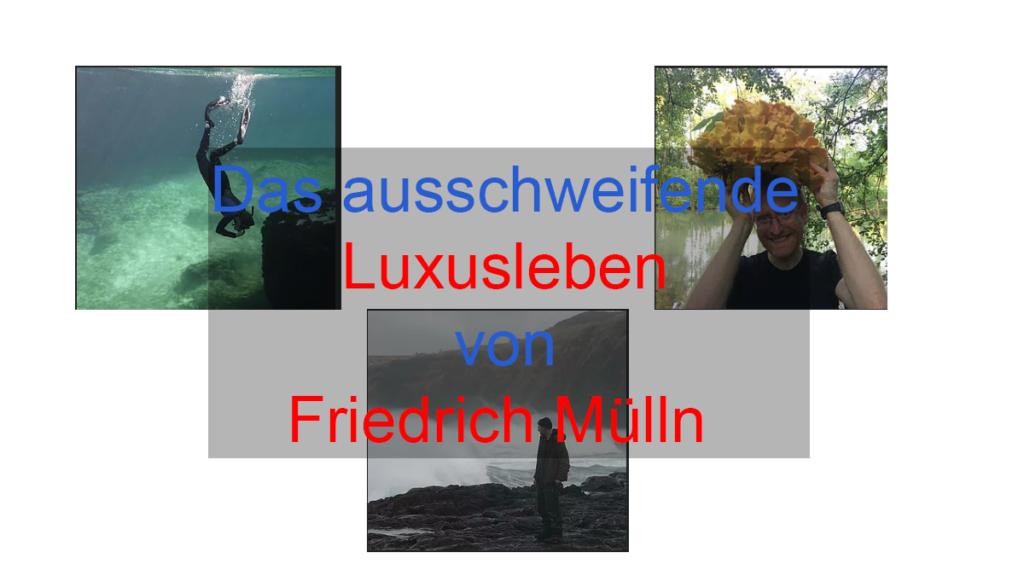 Friedrich Mülln´s geheimes Luxusleben