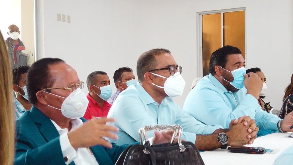 Reunión de la Alcaldía de Higuey y el Ministerio de Interior y Policía