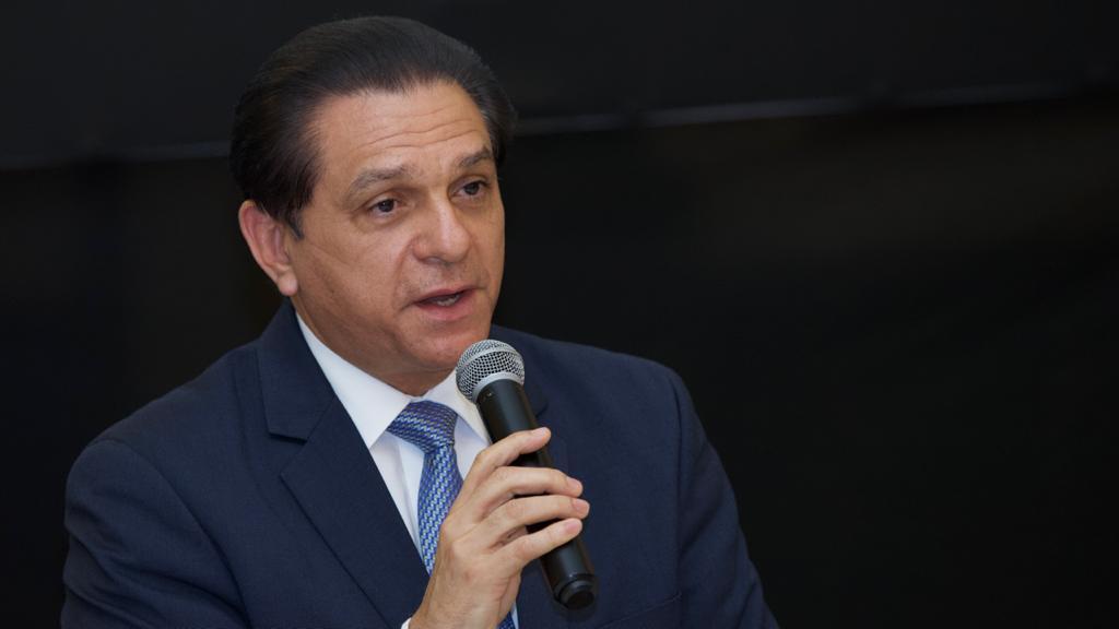 Ministro de Salud Pública Daniel Rivera.