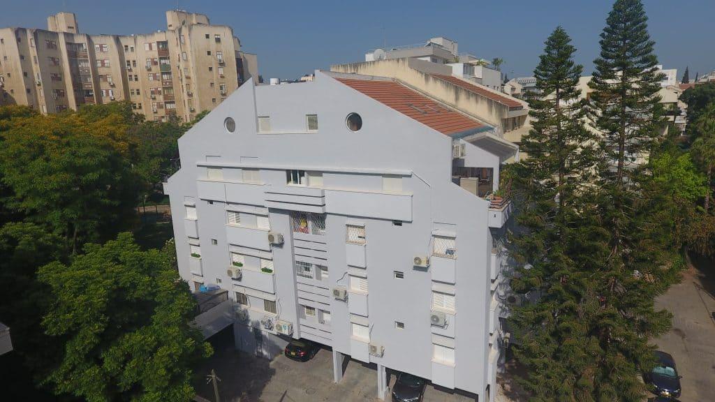 שינוי חזית בניין