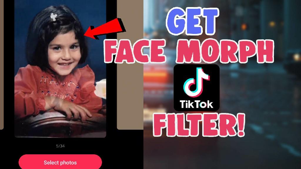 morph filter on tiktok icon