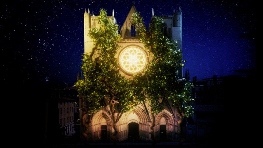 Fête des Lumières 2019 - Cathédrale Saint Jean Baptiste | Blog In Lyon