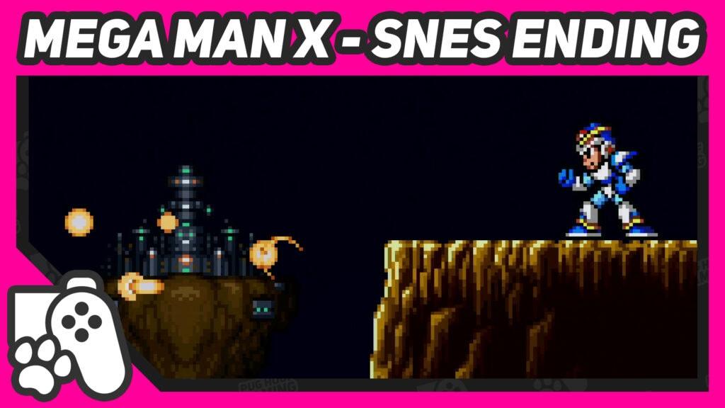 mega man x ending snes