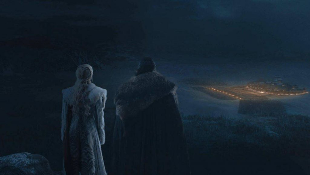 Game of Thrones the Battle of Winterfell