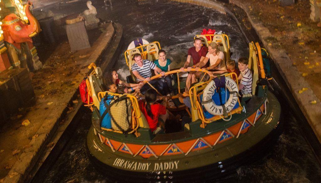 Atracción de Kali River Rapids en el parque Animal Kingdom en Disney World Orlando