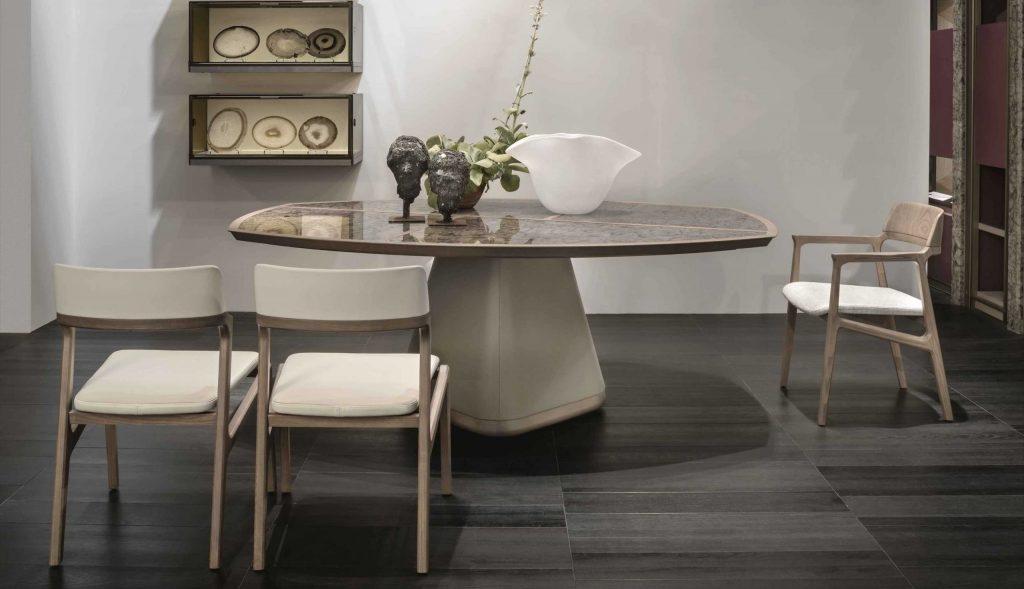Krzesło Alexa i stół Disegual | design/ Umberto Asnago