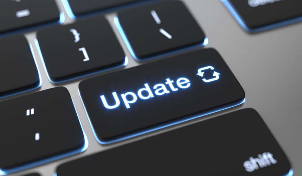 Zero day attack update software