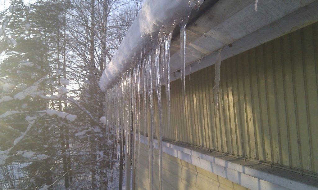 lämpövuoto katossa