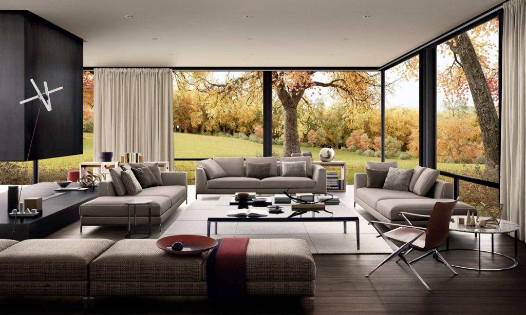 Sofa Ray | design: Antonio Citterio B&B Italia
