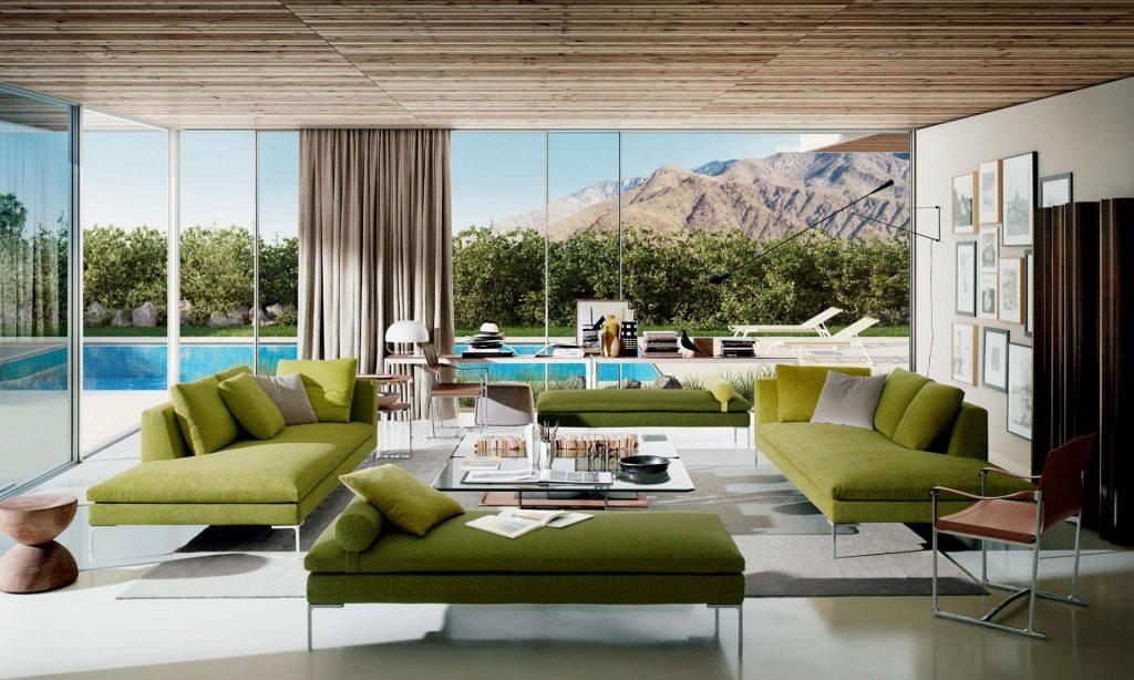 Sofa Charles | design: Antonio Citterio B&B Italia