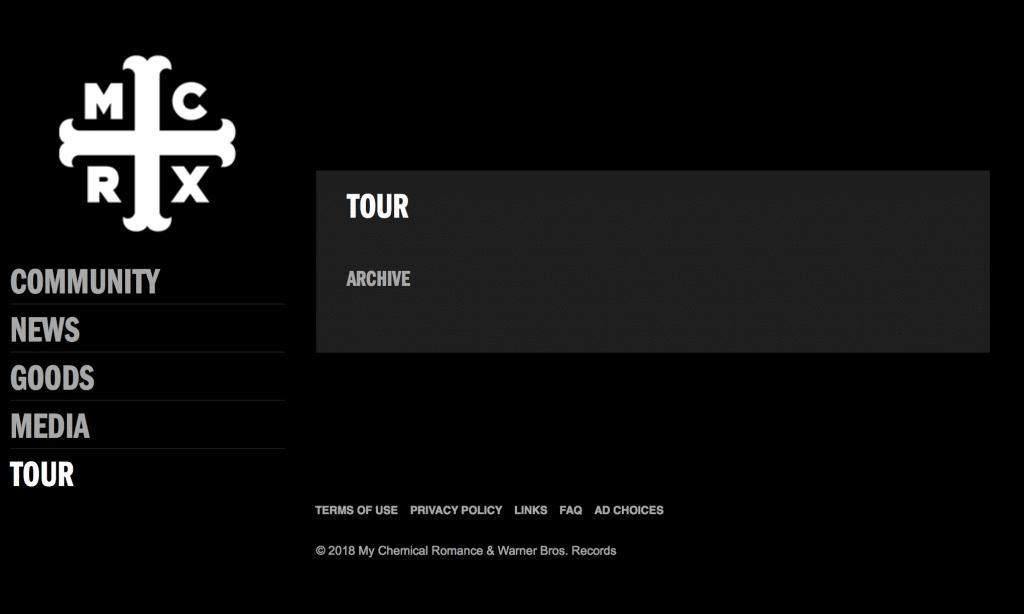 MCR Tour