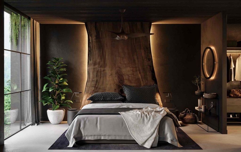 luksusowa sypialnia wizualiacja- Anton Yeregui