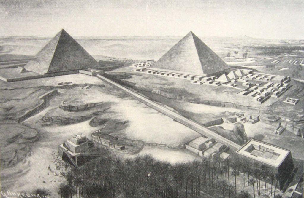 Pyrarmiden-Komplex des Khefren, Ägypten