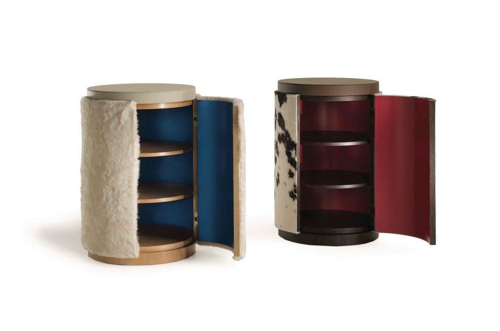 meble inspirowane zimą Fratelli Boffi - In Furs Cabinet - design Analogia Project (2)