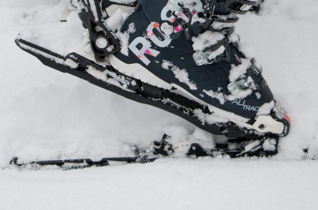 fixations pratiques pour débuter le ski de randonnée, madame voyage blog