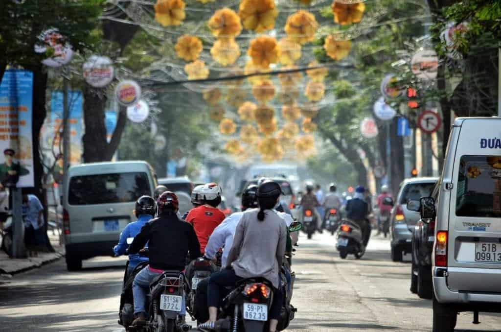 vietnam by motorbike