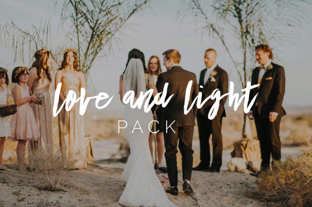Preset Nhiya Kaye - Love and Light Preset Pack for lightroom