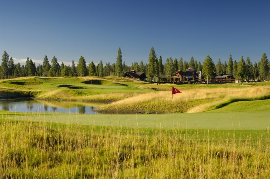 USA Sunriver Golf Resort in Oregon
