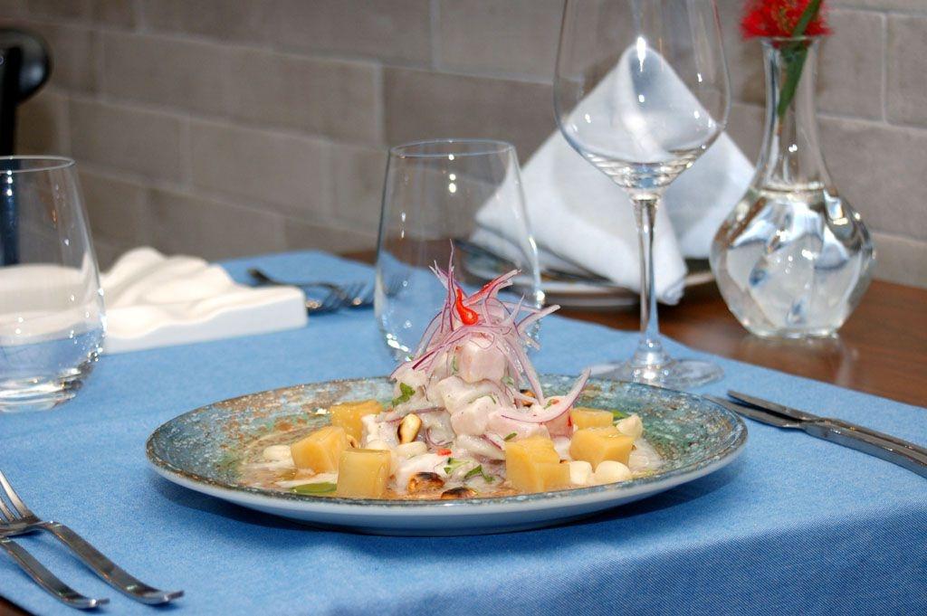 ceviche clásico de pescado