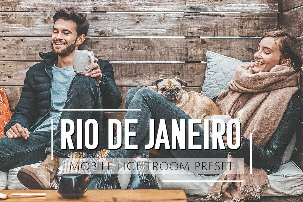 Preset Rio De Janeiro Mobile Preset for lightroom