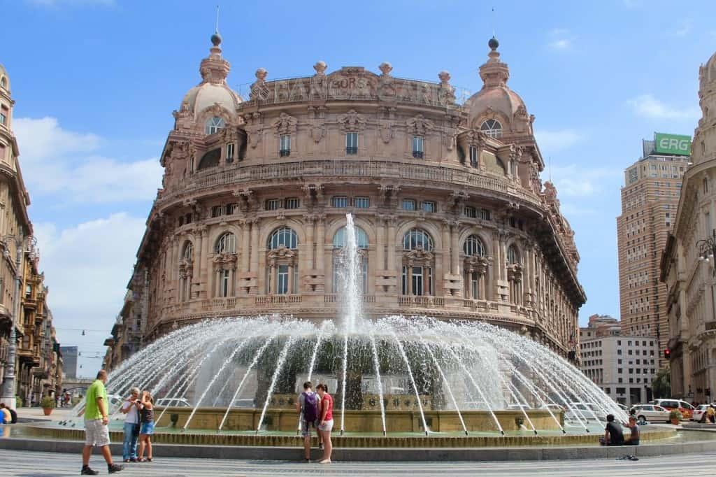 Genoa italy honeymoon