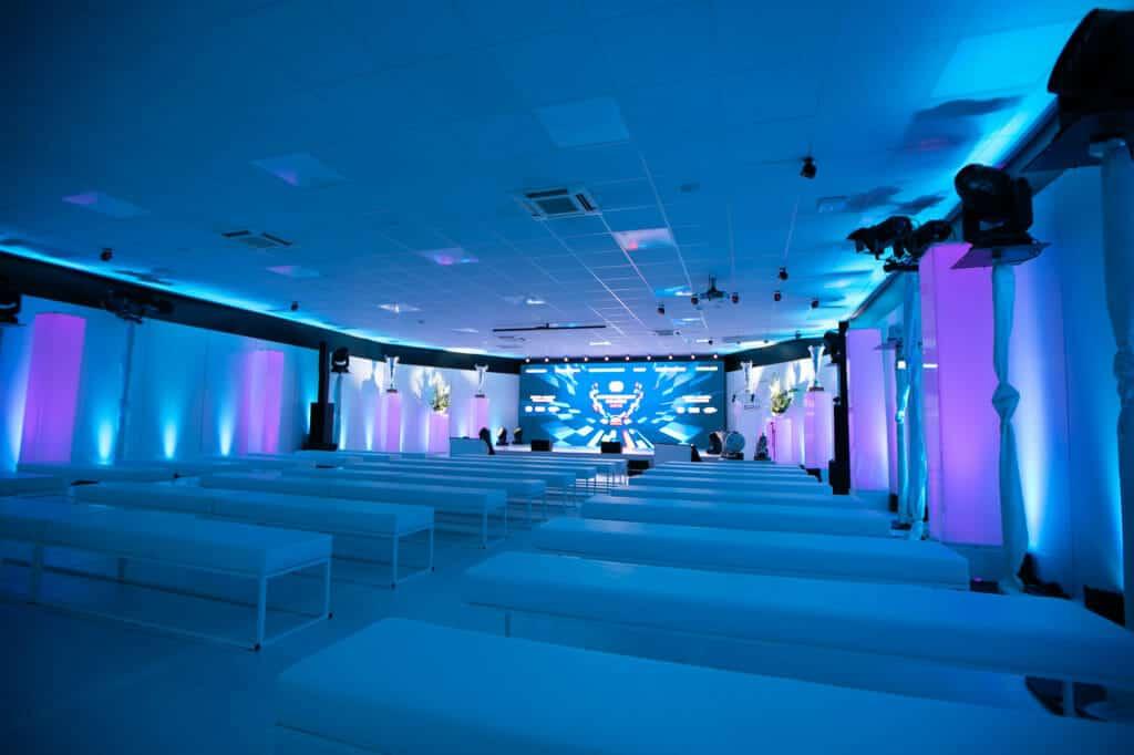Conférence de presse SRO 2019 aménagée par So Event