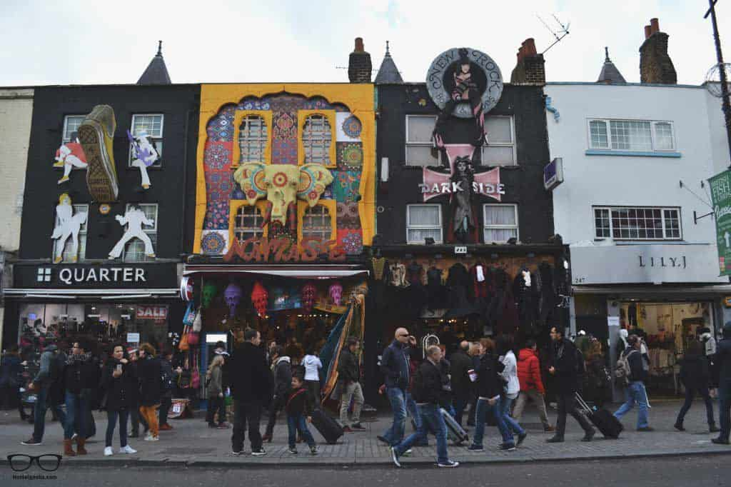 Camden Town in Lodon, that's not to miss