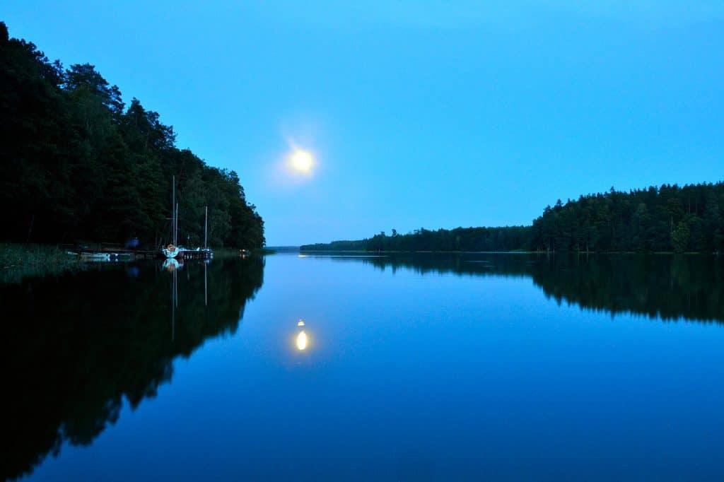 Jezioro Białe Augustowskie