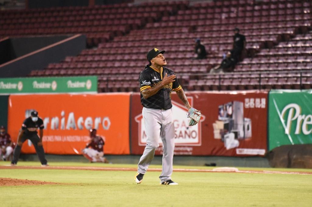 Carlos Martínez, jugador de las Águilas.