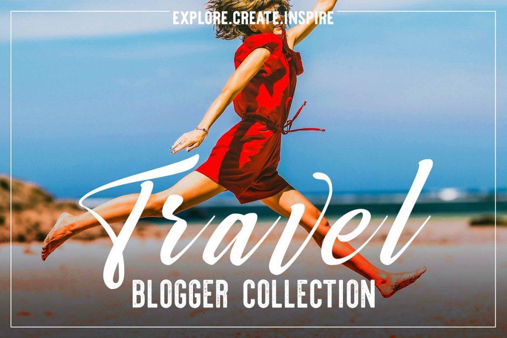 Preset Travel Blogger Lr Acr Presets for lightroom