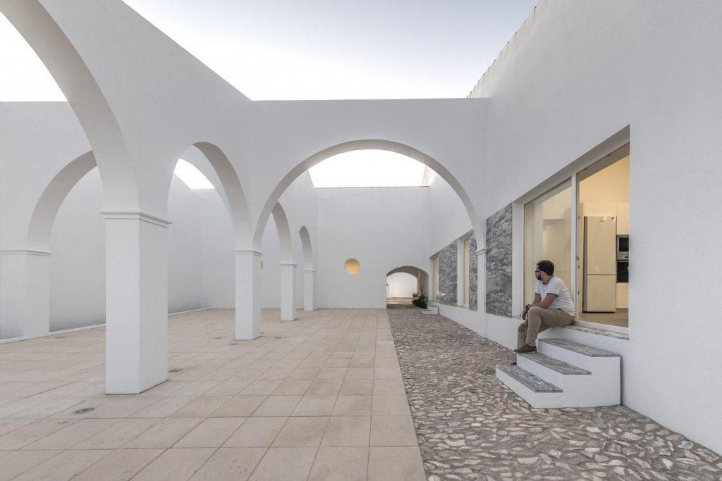 SMG Arquitectos architektoniczny ogród architektura 01