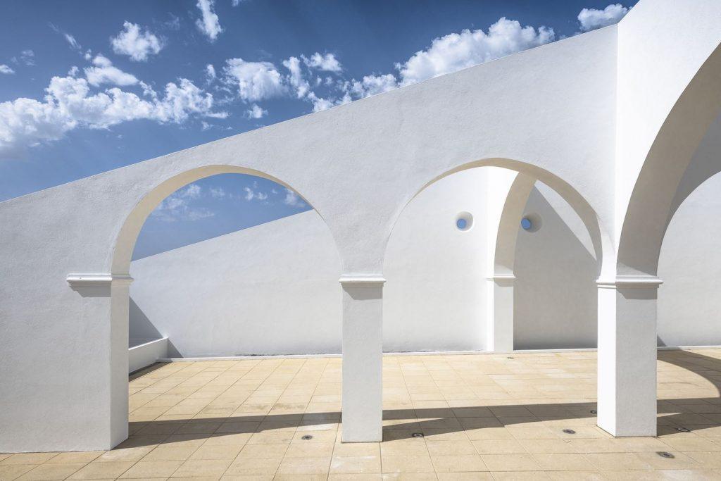SMG Arquitectos architektoniczny ogród architektura 11