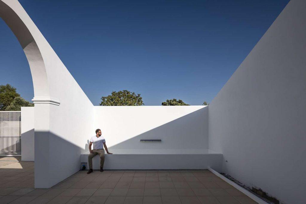 SMG Arquitectos architektoniczny ogród architektura 12