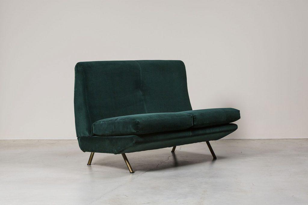 Sofa IX Trennale   design: Marco Zanuso, 1951   Artflex nowoczesne kanpay