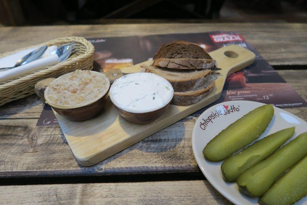 Essen in Krakau