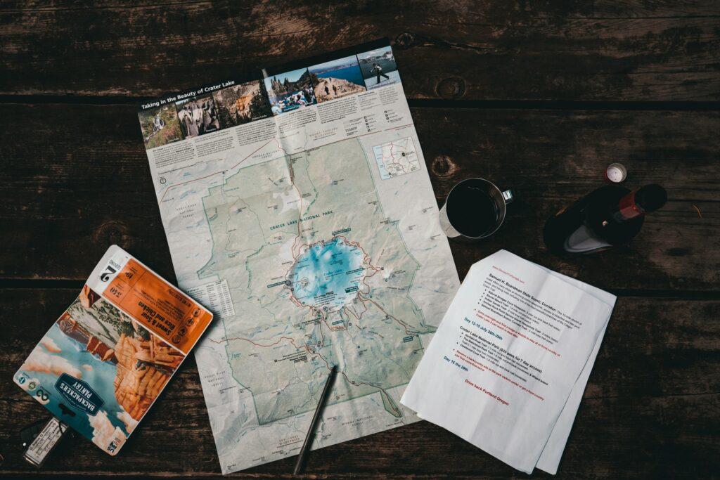 Como será a rota da sua viagem de volta ao mundo?
