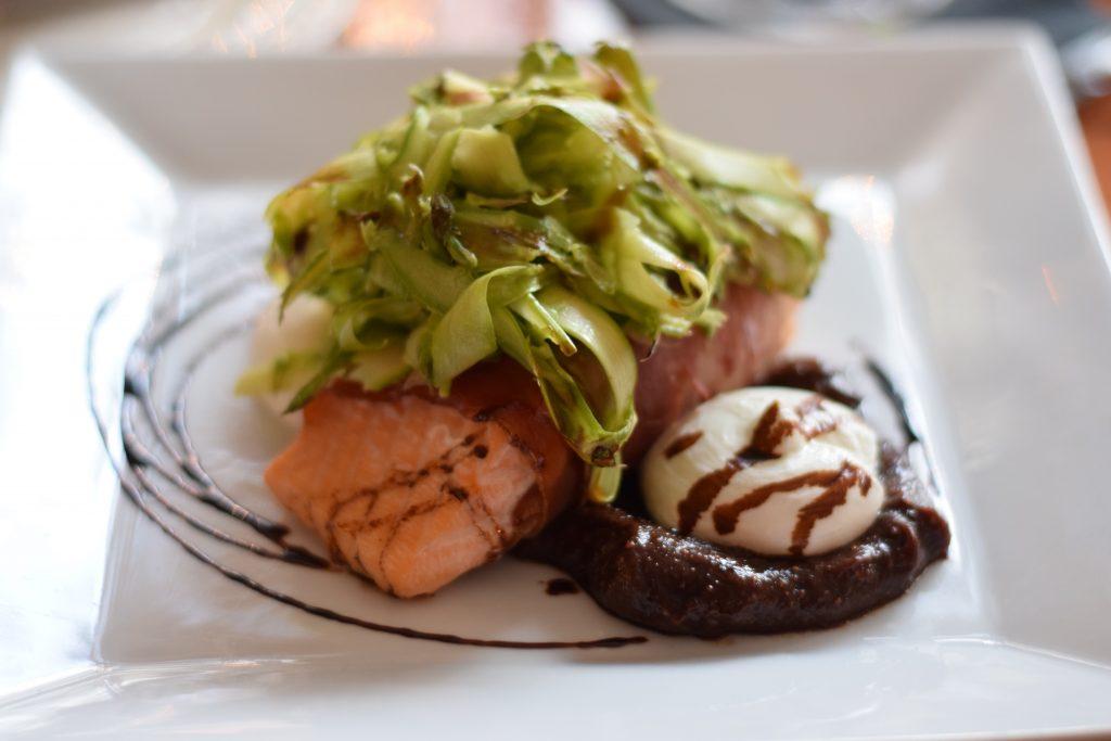 Salmon at the Speakeasy