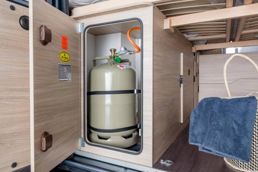 Gasflasche Wohnmobil Extras mieten bei Moon Camper Berlin