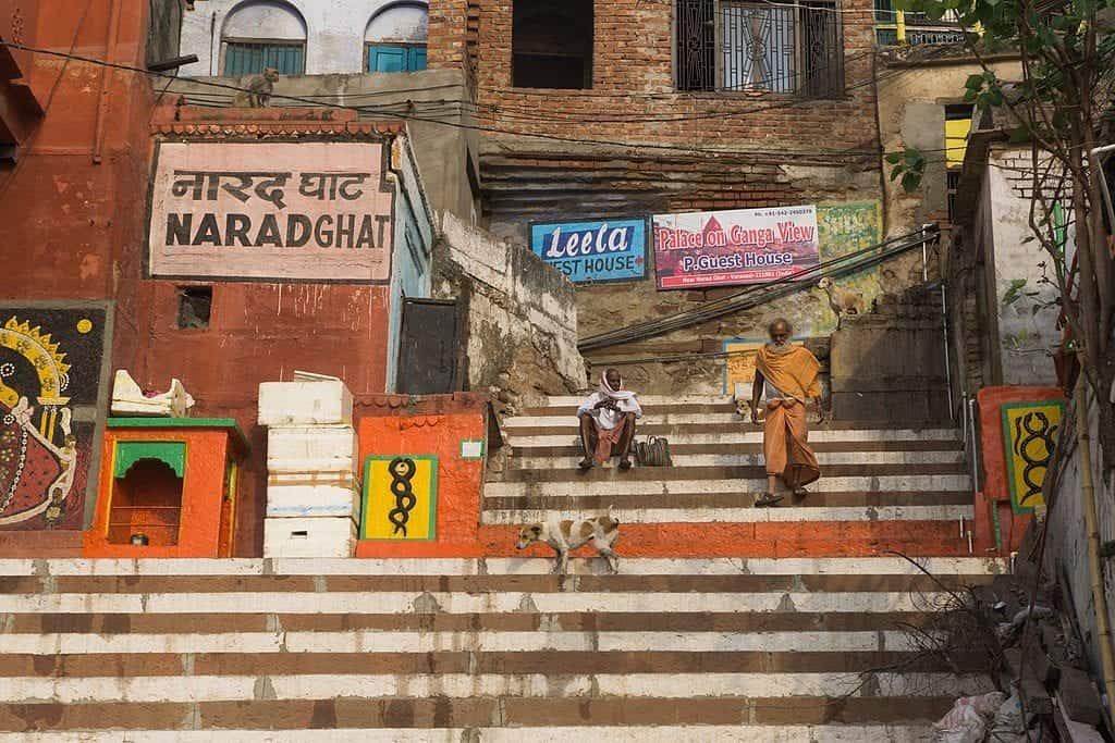 Narad Ghats in Varanasi