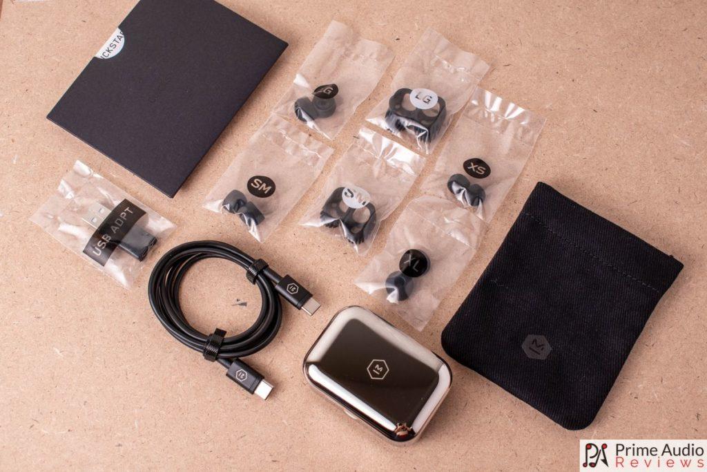 M&D MW07 Plus box contents