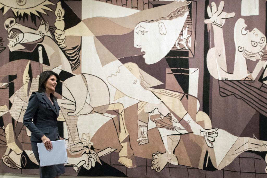 Picasso 'Guernica' Tapestry Leaves U.N. After Rockefeller Request – ARTnews.com