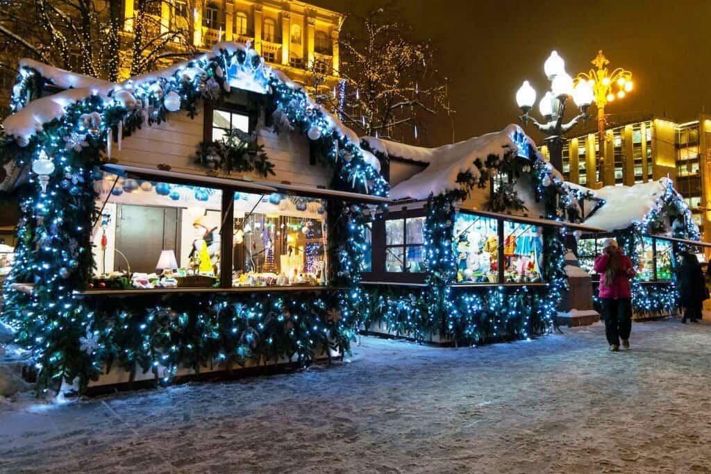 Ярмарка в «Сокольниках» ярмарки Новогодние ярмарки в Москве NkTFhspR6n8